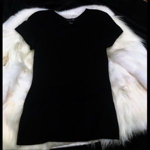 Forever 21 Black Basic Top Size Small